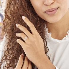 Bague Solena Or Blanc Diamant - Bagues Femme | Marc Orian