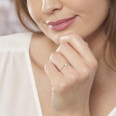 Bague Hetty Argent Blanc Oxyde De Zirconium - Bague fantaisie Femme | Marc Orian