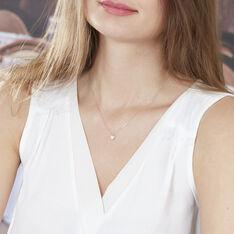 Collier Or Rose Kadidjatou Cœur Oxyde - Colliers Femme | Marc Orian