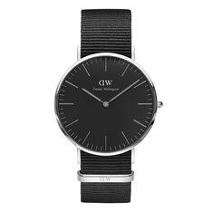 Montre Daniel Wellington Classic Cornwall Noir - Montres Homme | Marc Orian