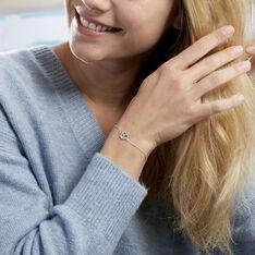 Bracelet Marina Argent Blanc Oxyde De Zirconium - Bracelets chaînes Femme | Marc Orian