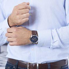 Montre Lotus Minimaliste Bleu - Montres classiques Homme | Marc Orian