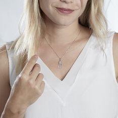 Collier Ioannina Argent Blanc Oxyde De Zirconium - Colliers Femme | Marc Orian