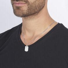 Pendentif Aymerik Argent Blanc - Pendentifs Homme | Marc Orian