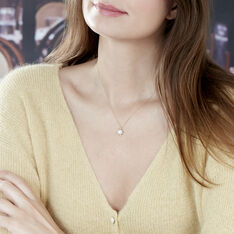 Collier Or Jaune Perle De Culture Nacrée - Sautoirs Femme | Marc Orian