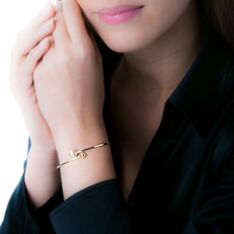 Bracelet Jonc Clemmie Or Jaune - Bracelets jonc Femme | Marc Orian