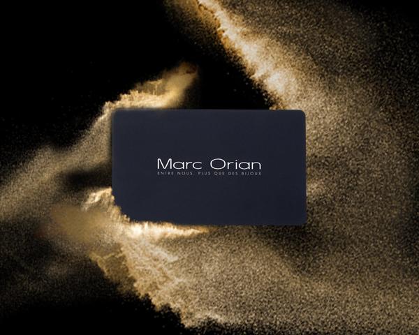 Carte Cadeau Marc Orian