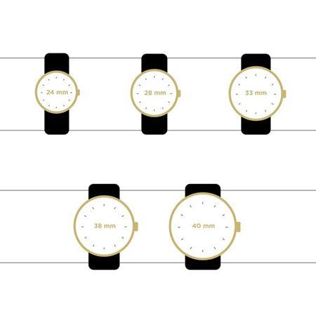 guides des tailles montres pour femme